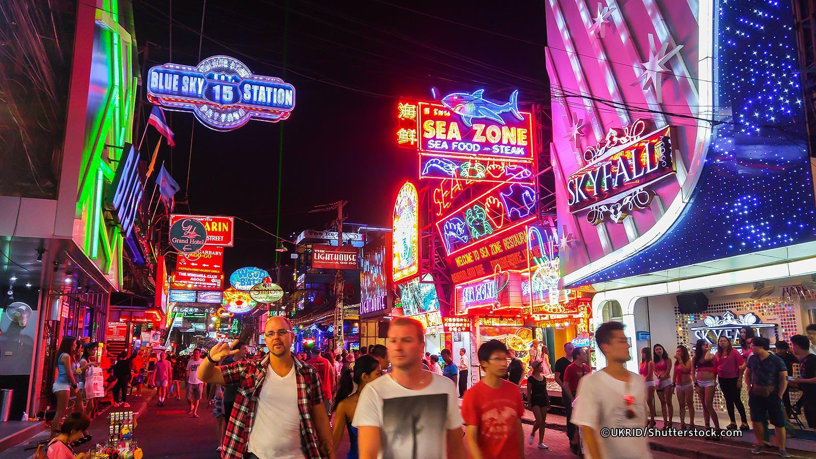 Pattaya City Downtown Tour