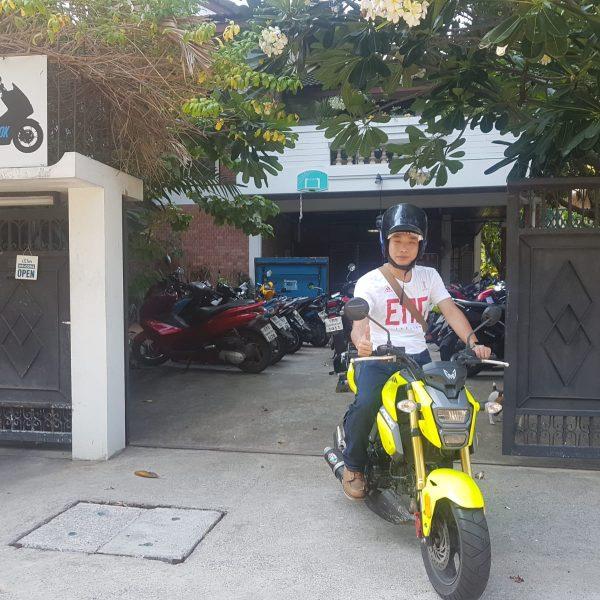 Renting a vehicle in Bangkok