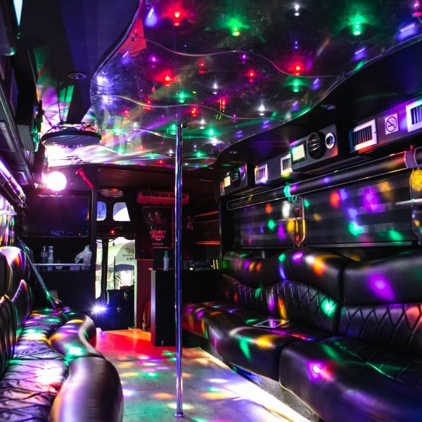 Is it possible to party in a bus?
