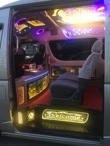 Funky minivan Thailand