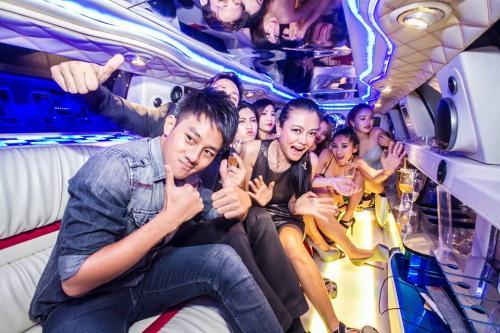 bachelor party bangkok limo