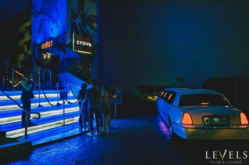 crazy limo at night