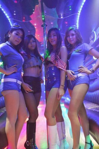 crazy party bus bangkok