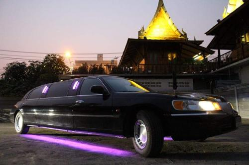 great black limo