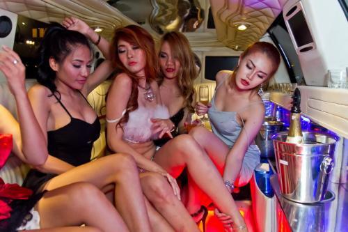 hen night strech limousine bangkok