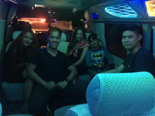 mini van party bangkok